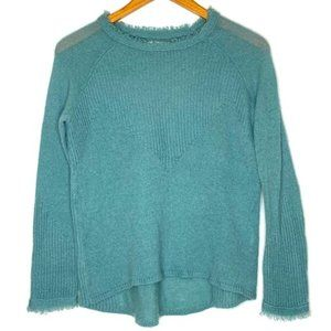 Lucky Brand Knit Sweater Sz S Loose Fit High Low